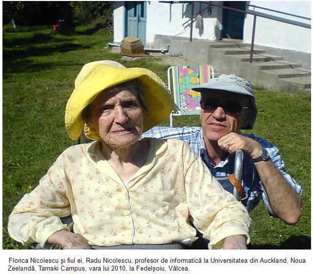 Florica  si fiul ei Radu