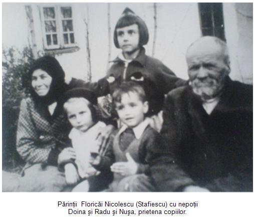 Parintii Floricai Nicolescu si copii